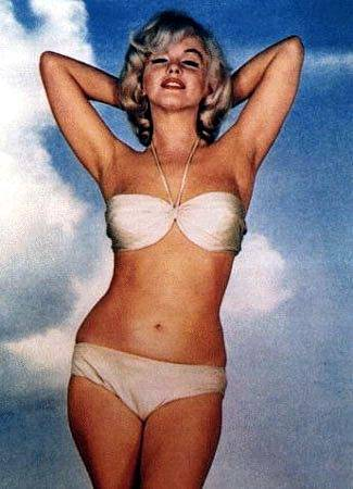 Ideal Body Image Marilyn Monroe